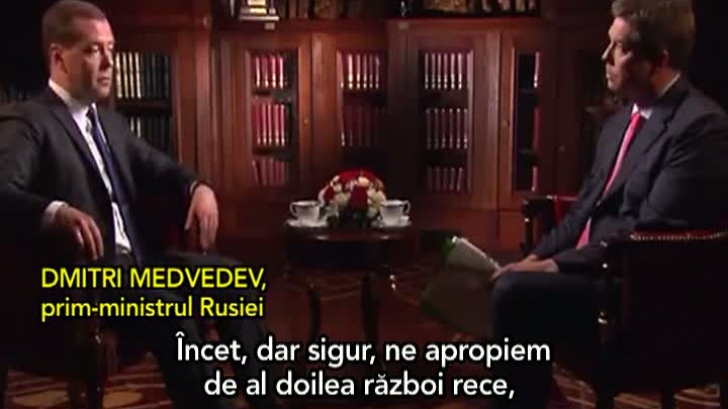 Medvedev: Începe un al doilea Război Rece