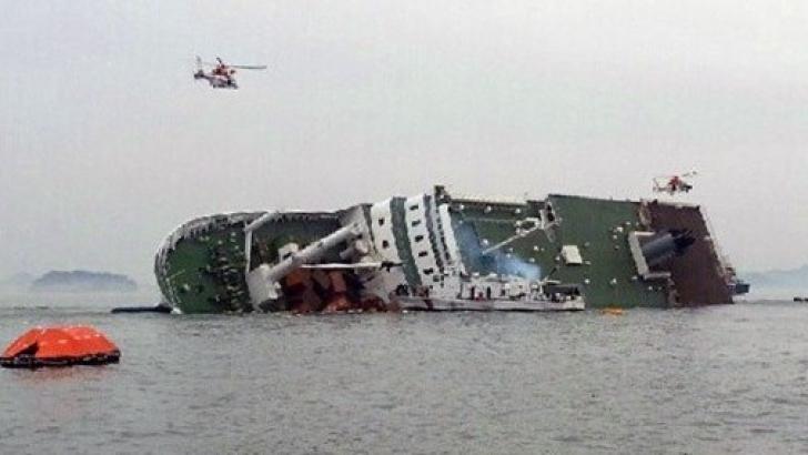 ACCIDENT MORTAL la bordul epavei feribotului scufundat în Coreea de Sud