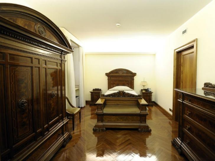 Apartamentul în care doarme Papa Francisc