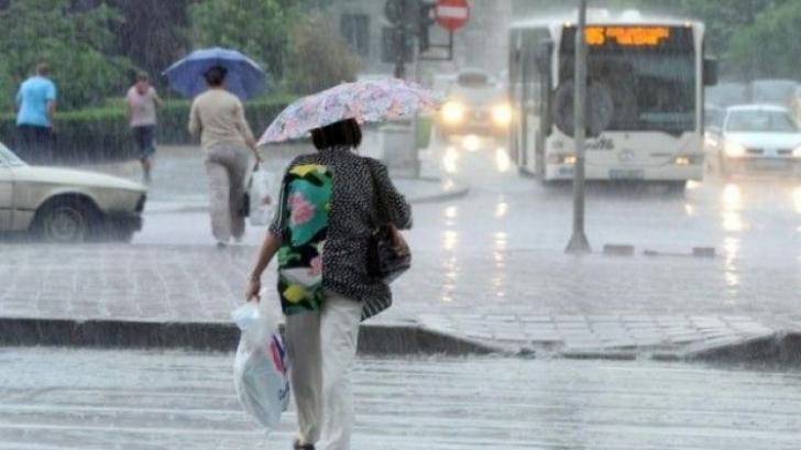 Se întorc ploile! PROGNOZA METEO pe trei zile