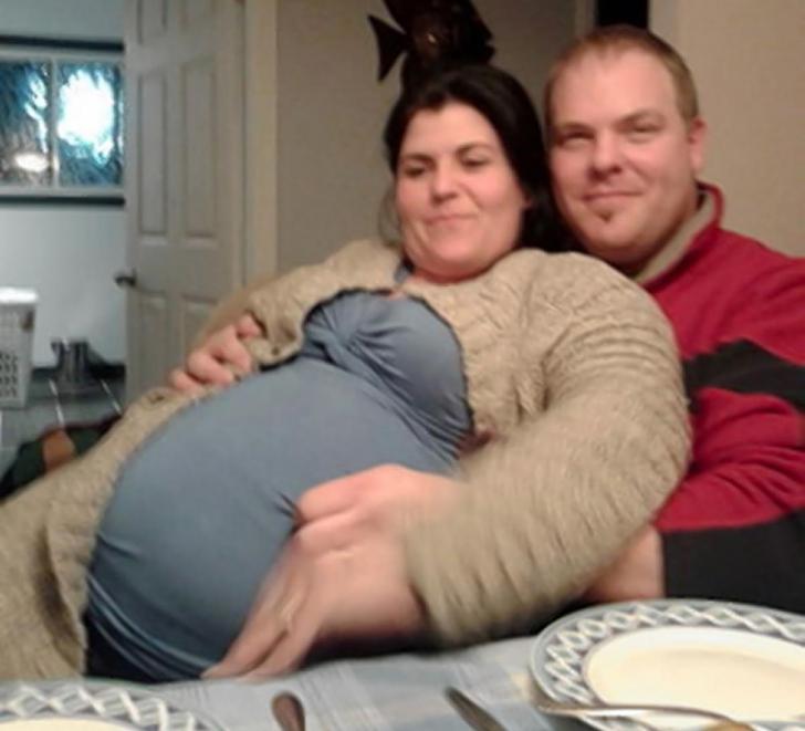 Partenerul unei tinere însărcinate cu cvintupleţi a avut un adevărat şoc când a ajuns la ginecolog