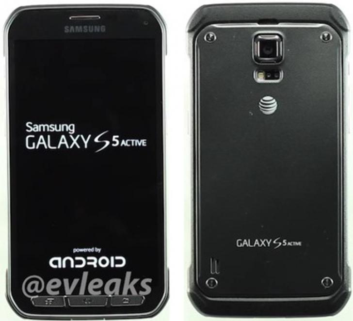 Samsung Galaxy S5 Active, imagini și detalii despre Galaxy S5 Active