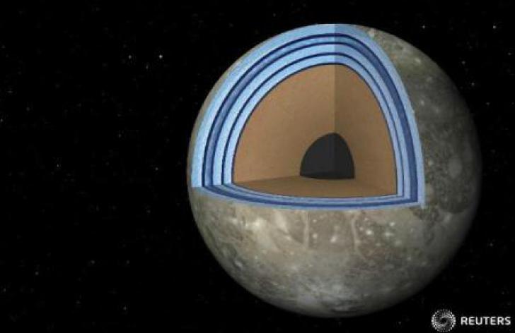 Unul dintre sateliții lui Jupiter ar putea ascunde oceane dispuse în straturi