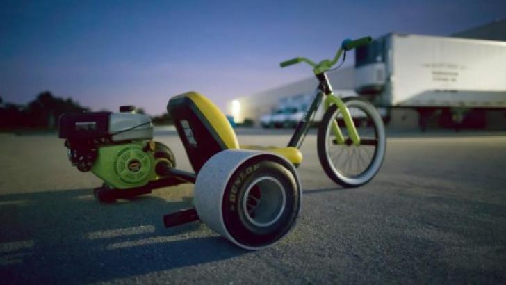Tortuga, o tricicletă cu motor pentru senzaţii tari