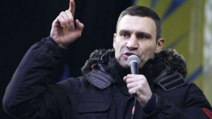 Vitali Kliciko, primarul KIEVULUI, va candida la alegerile legislative