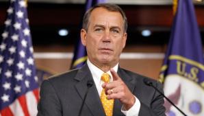 John Boehner va formula o acţiune judiciară contra lui Barack Obama pentru abuz de putere