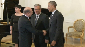 Băsescu s-a întâlnit cu Obama