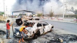 Peste 500.000 de civili s-au refugiat în urma luptelor din oraşul Mosul