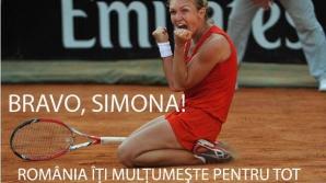Victor Ponta: O performanță fabuloasă pentru Simona Halep