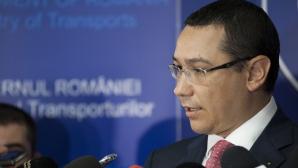 Ponta: Imediat ce dorim să facem schimbări în Guvern, discutăm în coaliţie. Sunt mulţumit de miniștri / Foto: MEDIAFAX