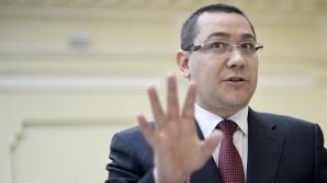 Ponta: Foştii preşedinţi ai României trebuie să fie senatori de drept / Foto: MEDIAFAX