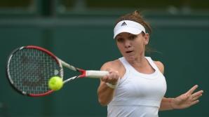 SIMONA HALEP, în semifinale la Wimbledon