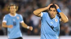 """Uruguay, una dintre echipele din """"grupa morţii"""""""