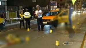 ACCIDENT MORTAL în Centrul Capitalei: O femeie a fost spulberată de un taximetrist