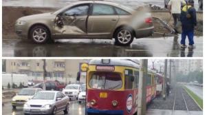 Accident cumplit la Arad.