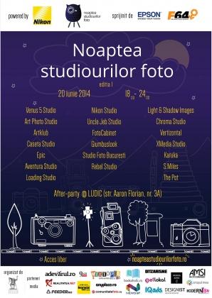 (P) Ce poti vedea la Noaptea Studiourilor Foto