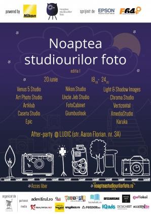 EVENIMENT. Noaptea Studiourilor Foto – ediția I