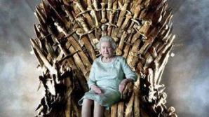 """Regina Elisabeta a II-a a Marii Britanii a vizitat platourile de filmare ale serialului """"Urzeala tronurilor"""""""