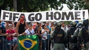 Campionatul Mondial de Fotbal 2014: proteste masive
