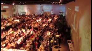 Cină de Sabat de Cartea Recordurilor, la Tel Aviv