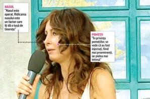 Mihaela Rădulescu şi-a operat nasul?