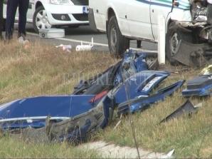 Accident cumplit în Bihor.