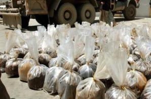 Poliția elenă a confiscat O TONĂ de heroină / Foto: AGERPRES