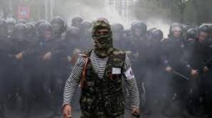 Explozii violente în centrul oraşului ucrainean Doneţk