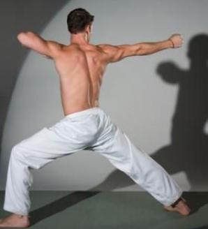 Hoţ bătut de un campion la karate