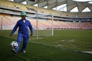 Stare improprie pentru fotbal a Arenei Amazonia