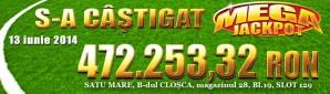 Un jandarm din Satu Mare câștigă Mega Jackpot-ul de peste 100.000 euro de la Stanleybet