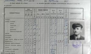 Cum dădeau elevii examene în anii 40?
