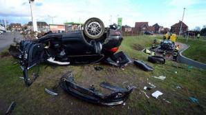 Accident cumplit în Belgia.