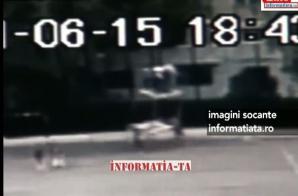 Imagini şocante: gestul inconştient care ar fi putut duce la o tragedie