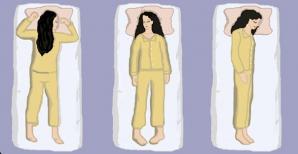 Avantajele şi dezavantajelor diferitelor poziţii de dormit