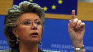 Viviane Reding face apel la blocarea forțelor extremiste în Europa