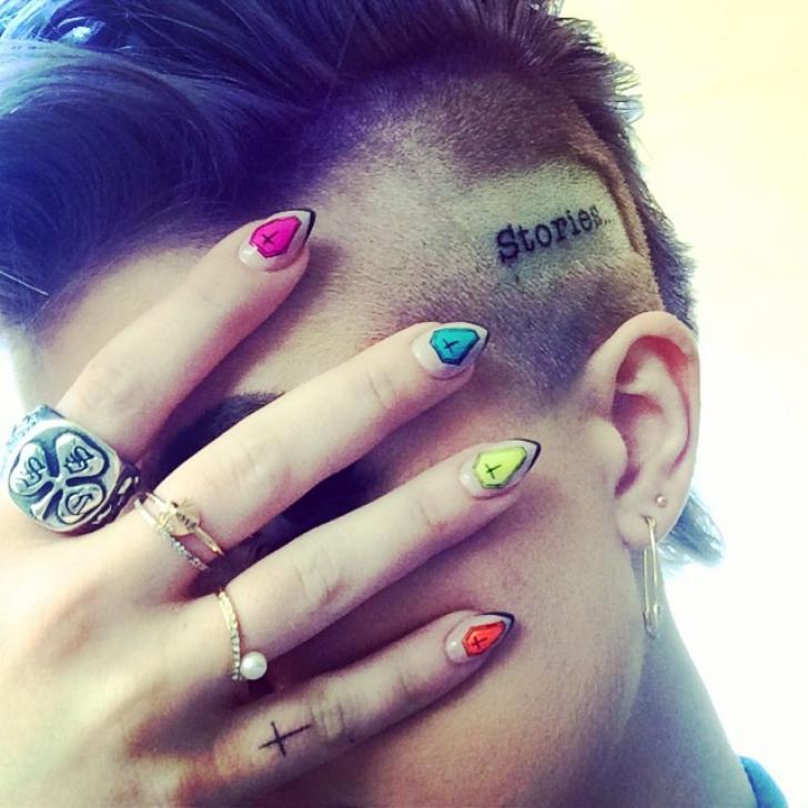 Kelly Osbourne, tatuaj bizar
