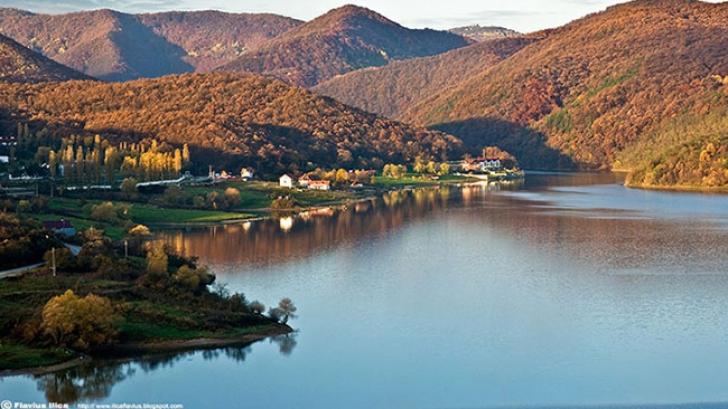 Lacul blestemat din România