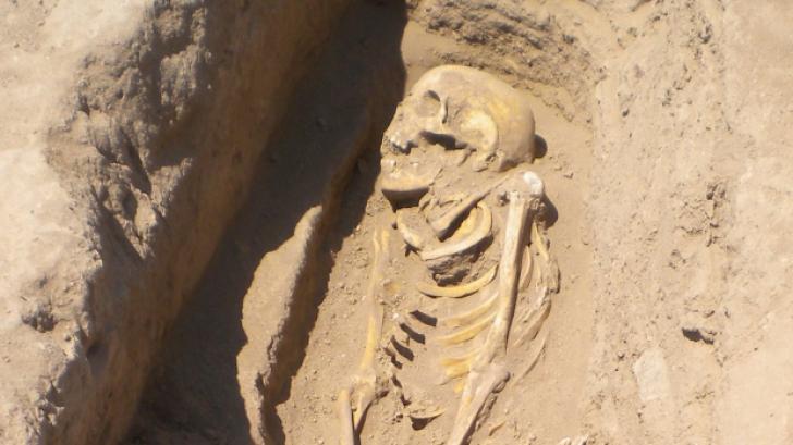 Ce au descoperit oamenii de stiinta intr-un schelet vechi de 6.200 de ani