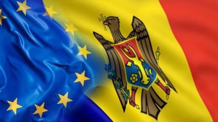 <p>Republica Moldova vrea sa adere la UE</p>