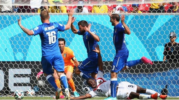 Un penalty neacordat pentru Cost Rica