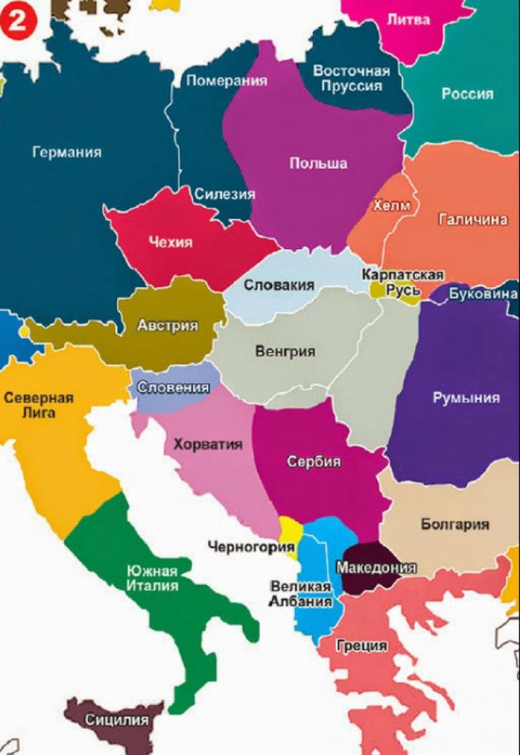 Harta Europei In 2035 Reflectarea Viselor Si Frustrărilor Rusiei