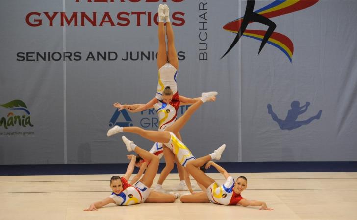 România, trei medalii la Campionatul Mondial de gimnastică aerobică de la Cancun