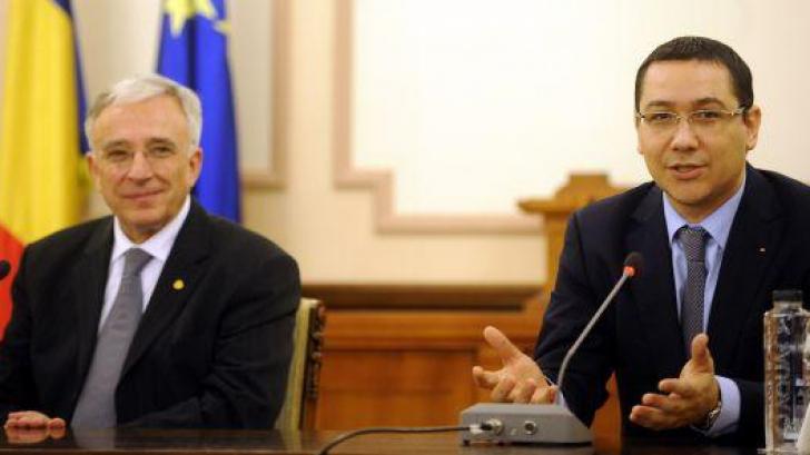 Ponta: Îl vom vota pe Isărescu pentru un nou mandat la BNR; Olteanu e liberal, nu-i în ograda mea