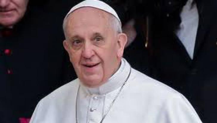 Papa Francisc, impresionat de mesajul unui român