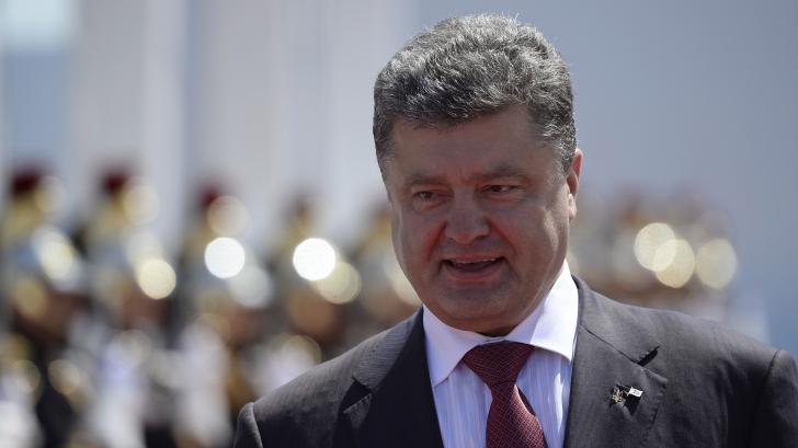 Preşedintele Ucrainei, Petro Poroşenko
