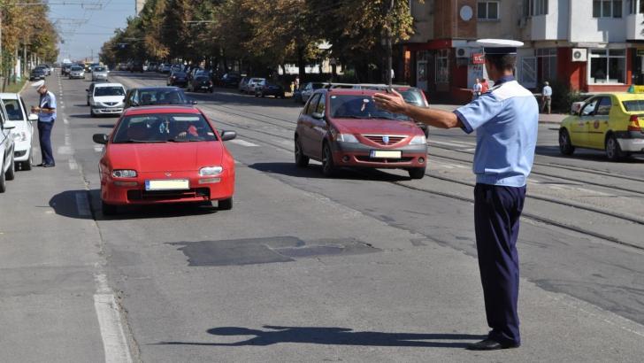 ATENŢIE, ŞOFERI! Peste 1.400 de permise de conducere, reţinute în patru zile