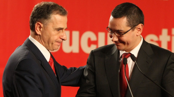 Ponta: Geoană a spus în şedinţa informală a CExN că mă va sprijini la prezidenţiale