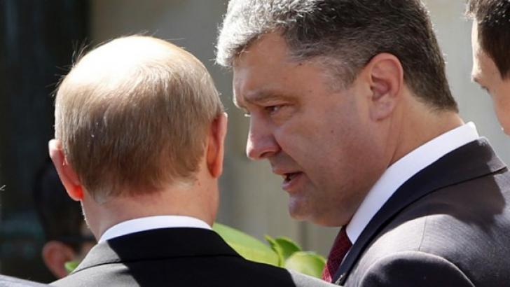 Discuţie telefonică Putin-Poroşenko