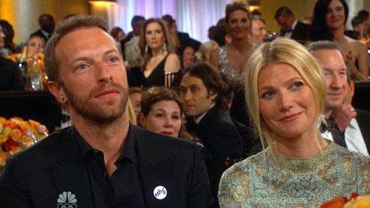 Gwyneth Paltrow şi Chris Martin